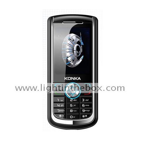 Konka D365 GSM Bar Cell Phone